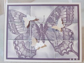 Butterfly Tile Mosaic (2)