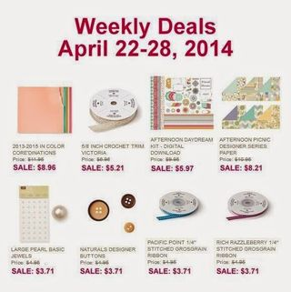 Weekly Deals April 22