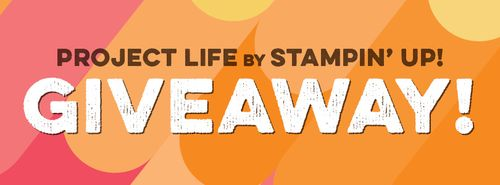 Project Life by SU Giveaway