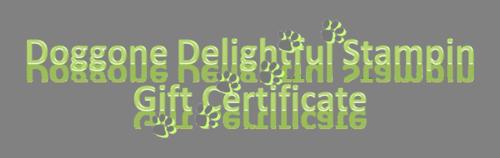 DDS Gift Cert Logo