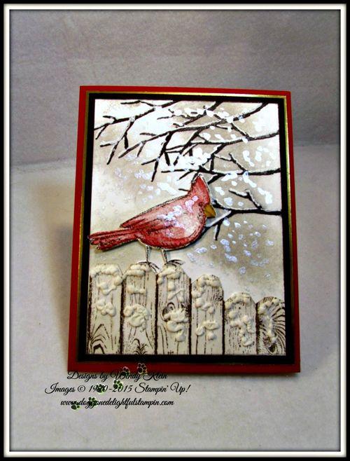 Snow Cardinal (4)