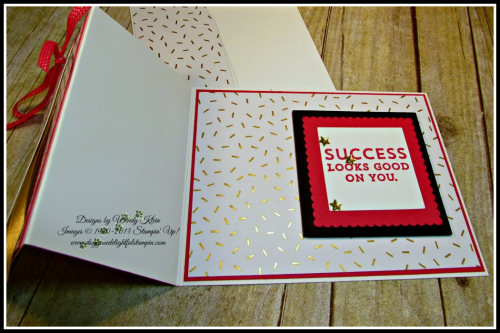Floral Phrases, Suite Sayings, Layering Squares, Gold Accents (4)