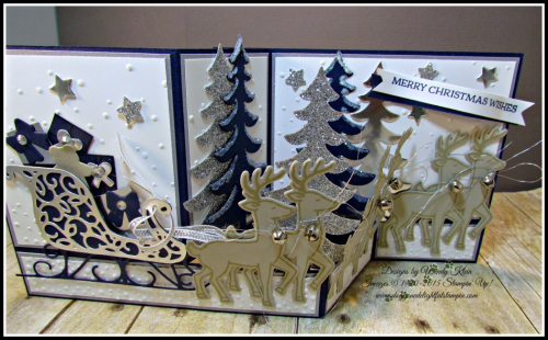 Santa's Sleigh Bundle Z-Box Diorama (2)