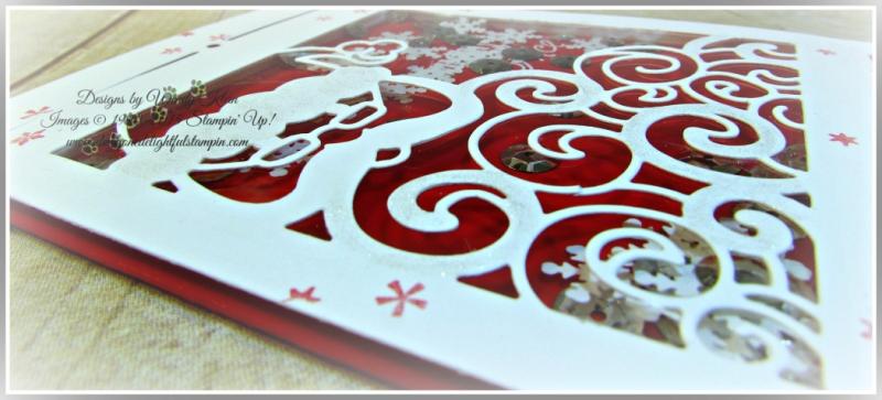 Greetings from Santa, Detailed Santa Thinlits, Wink of Stella (5)