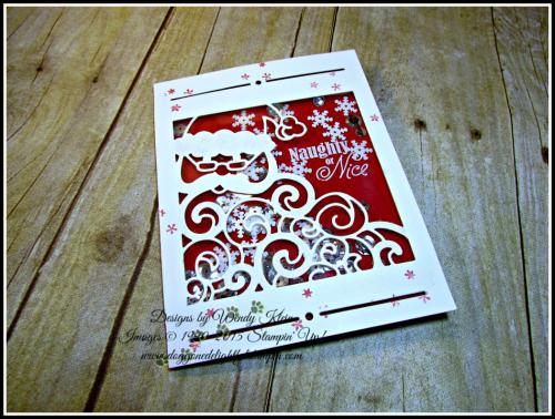 Greetings from Santa, Detailed Santa Thinlits, Wink of Stella (3)