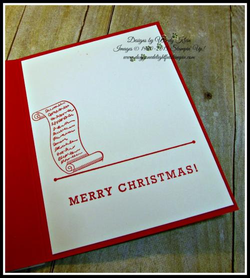 Greetings from Santa, Detailed Santa Thinlits, Wink of Stella (6)