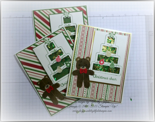 Shaker Cards & Ornaments (6)