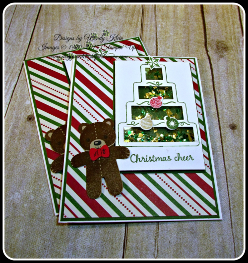 Shaker Cards & Ornaments (3)