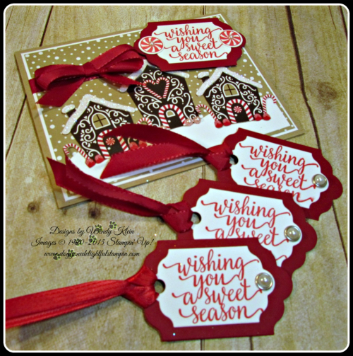 Candy Cane Christmas, Candy Cane Lane DSP, Lots of Labels Framelits, Cherry Cobbler Taffeta Ribbon (7)