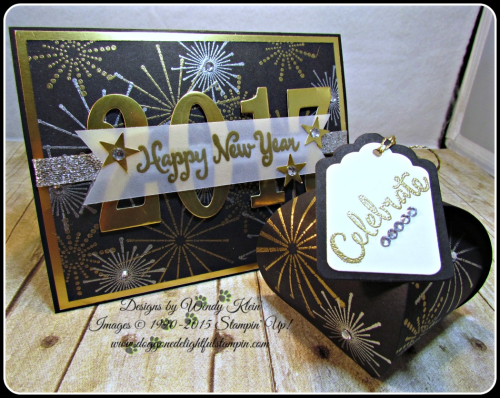 It's a Celebration, Frosted Medallions, Large Number Framelits, Curvy Keepsake Box, Tags & Labels (8)
