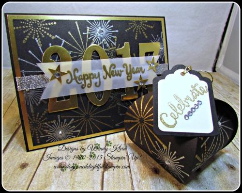 It's a Celebration, Frosted Medallions, Large Number Framelits, Curvy Keepsake Box, Tags & Labels (8)