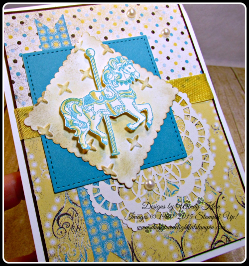 Carousel Birthday, Cupcakes & Carousels DSP, Layering Squares, Stitched Shapes framelits, Lace Doilies, Sparkle TIEF (6)