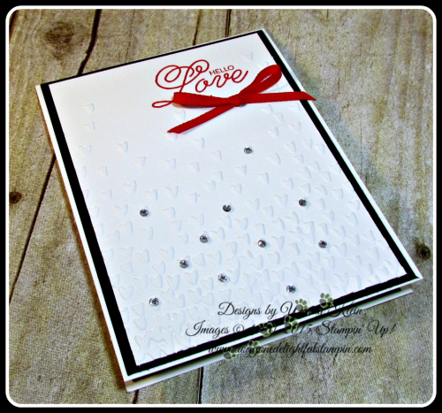 Sealed With Love, Falling Petals TIEF, Sending Love Ribbon combo in Real Red, Rhinestones (4)
