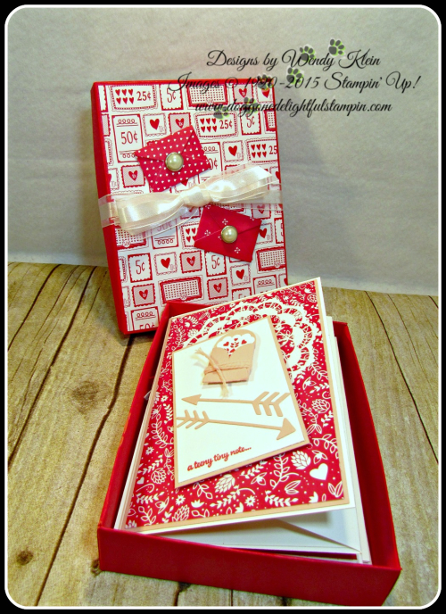 Love Notes Framelits, Sealed With Love, Sending Love DSP Stack (3)