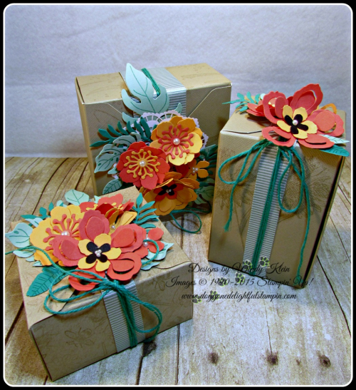 Botanical Blooms & Builders framelits, Touches of Texture, Painters Palette, Gift Box Punch Board (7)