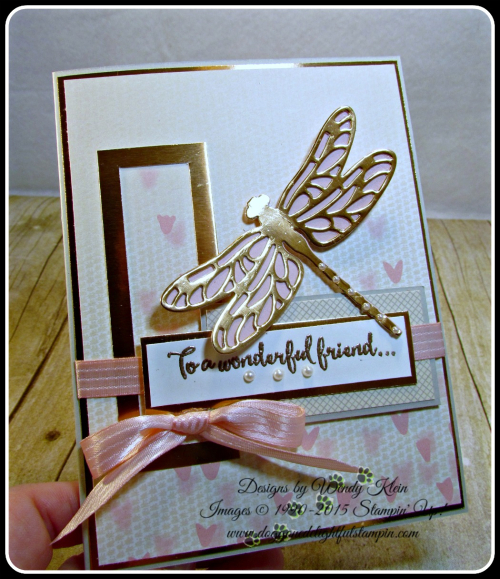 Dragonfly Dreams, Detailed Dragonfly Thinlits, Falling In Love DSP, Copper (6)