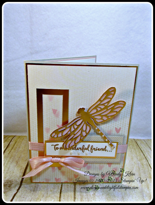 Dragonfly Dreams, Detailed Dragonfly Thinlits, Falling In Love DSP, Copper (8)