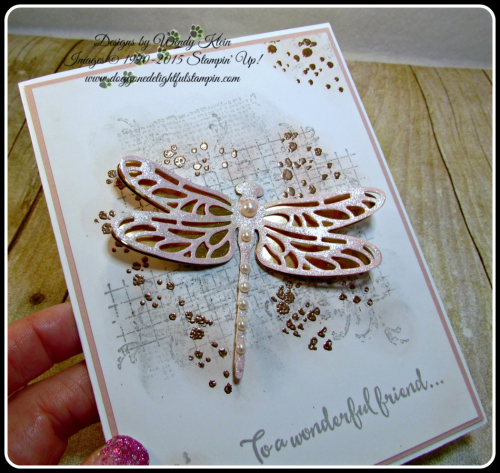 Dragonfly Dreams, Timeless Textures, Detailed Dragonfly Thinlits (17)