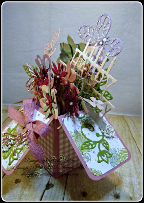 Pop Up Box Card, Succulent Framelits, Botanicals Builder Framelits, Butterfly Framelits, Party Pop-Up Thinlits, Stampin Up, Wendy Klein (4)