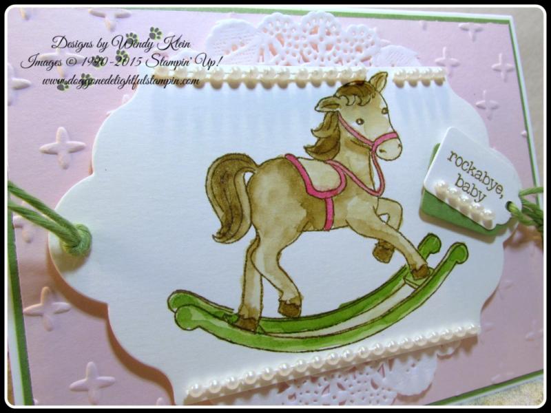 Little Cuties  Sparkle TIEF  Lots of Label Framelits  Tags & Labels Framelits  Wendy Klein  Stampin Up (3)