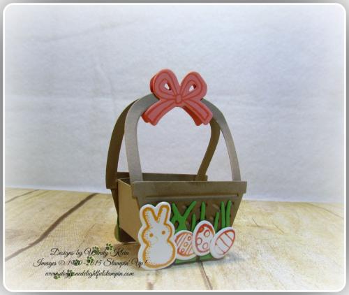 Mini Easter Basket - Basket Bunch  Basket Builder Framelits (12)