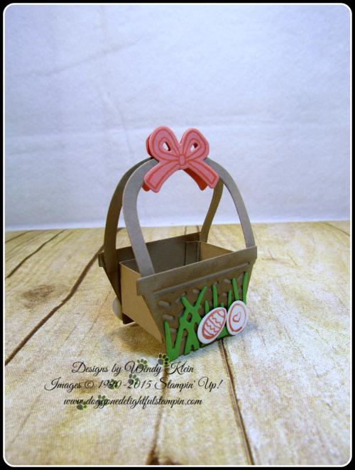 Mini Easter Basket - Basket Bunch  Basket Builder Framelits (11)