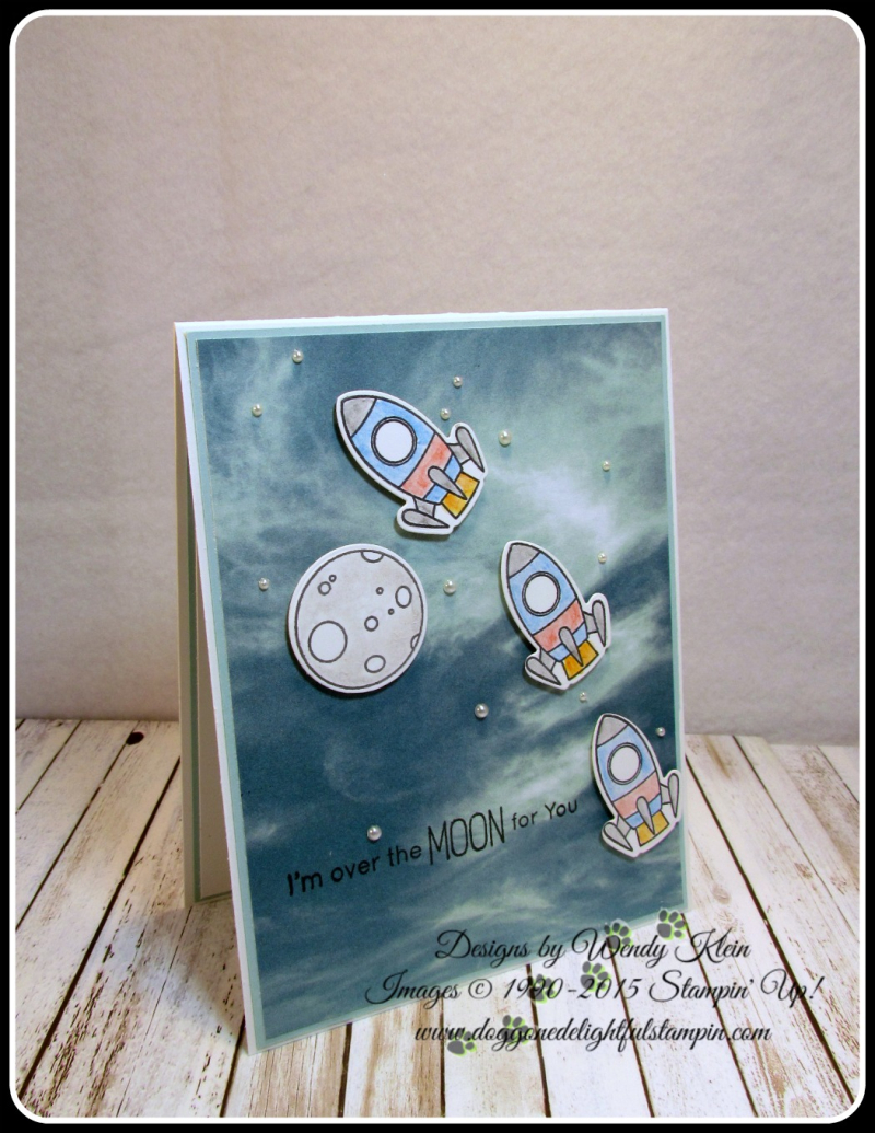 MFT Space Explorer  Serence Scenery DSP  Watercolor Pencils  Pearls (6)