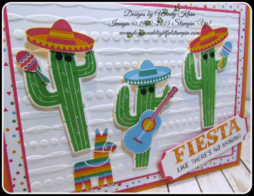 Birthday Fiesta  Fiesta Time Framelits  Festive TIEF  Triple Banner Punch  Lots of Labels Framelits (4)