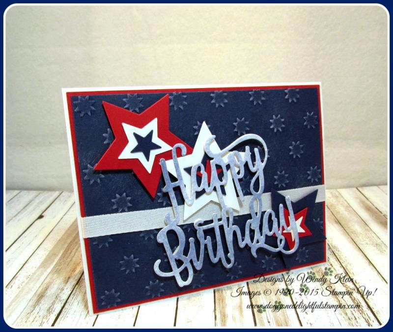 Happy Birthday thinlit  Oh My Stars TIEF  Stars framelits  Confetti Celebration  Whisper White classic weave ribbon (1)