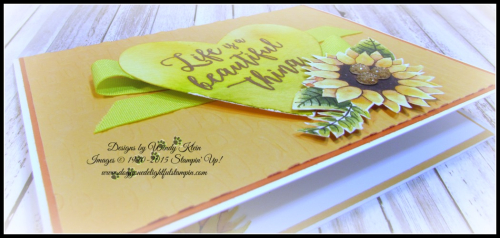 Colorful Seasons  Sweetheart TIEF  Sweet & Sassy Framelits  Painted Autumn DSP  Just Add Text  Copper ep - 2