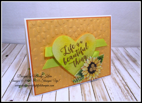 Colorful Seasons  Sweetheart TIEF  Sweet & Sassy Framelits  Painted Autumn DSP  Just Add Text  Copper ep - 1