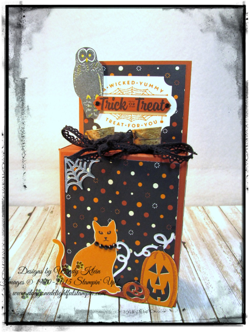 Test Tube Treat Box  Spooky Night DSP  Everyday Label Punch  Classic Label Punch  Vintage Crochet Trim - 5