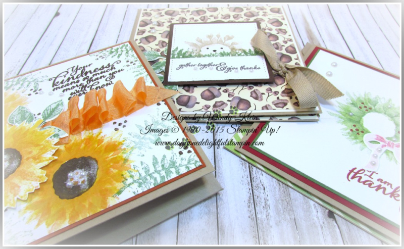 Painted Harvest  Painted Autumn DSP  Leaf Punch  Layering Squares  Stitched Shapes  Pearls - 8