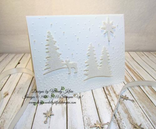 Card Front Builder  Softly Falling TIEF  Bethlehem Edgelits  Night in Bethlehem  Dazzling Diamonds Glimmer  Pearls - 1