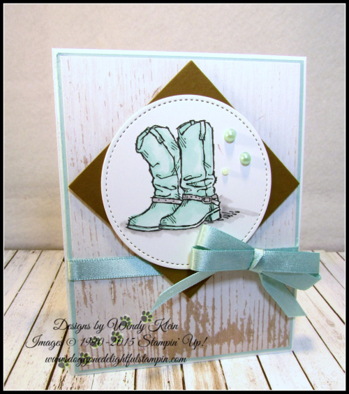 Coloring with Stampin Blends by Wendy Klein - 3