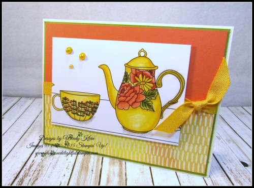 Coloring with Stampin Blends by Wendy Klein - 5