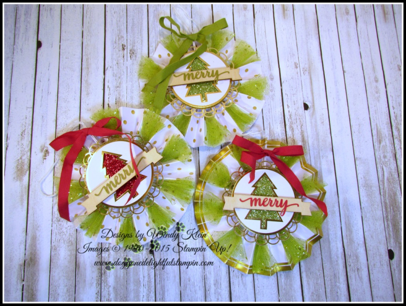 Be Merry Ornaments - 2