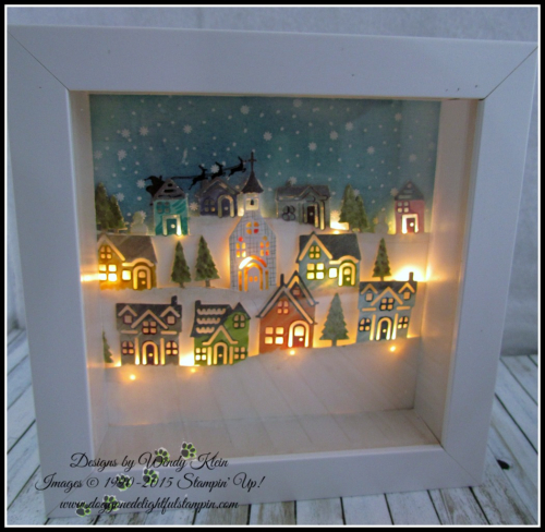 Hometown Greetings Edgelits  Hearts Come Home  Shadowbox Frame - 1