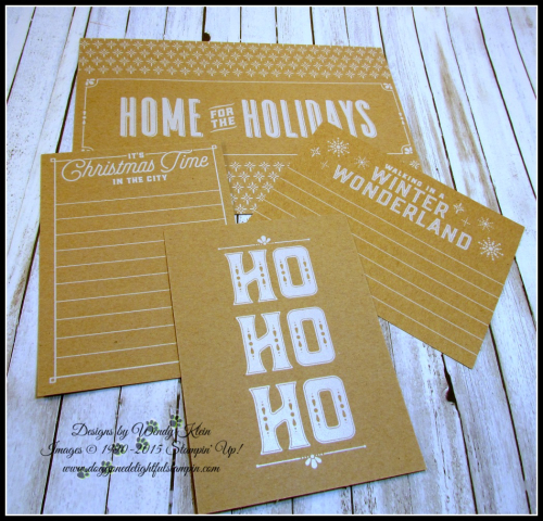 Merry Little Christmas Memories & More - designs by Doggone Delightful Stampin - 7