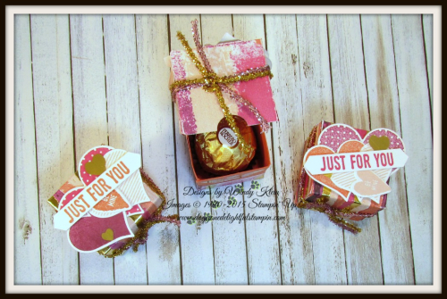Painted With Love Diagonal-Lidded Treat Box - 4