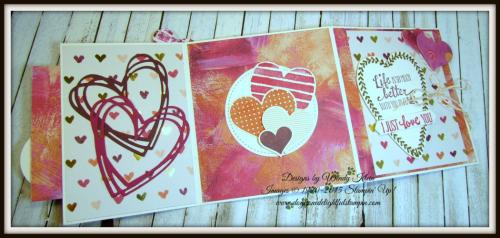 Backwards Z-Fold Valentine - 4