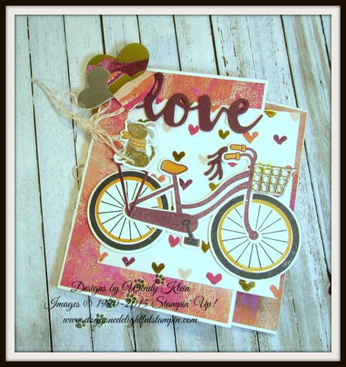 Backwards Z-Fold Valentine - 6