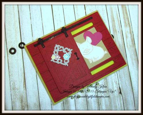 Barn Door Bundle  This Little Piggy  Hardwood  Layering Love - 3