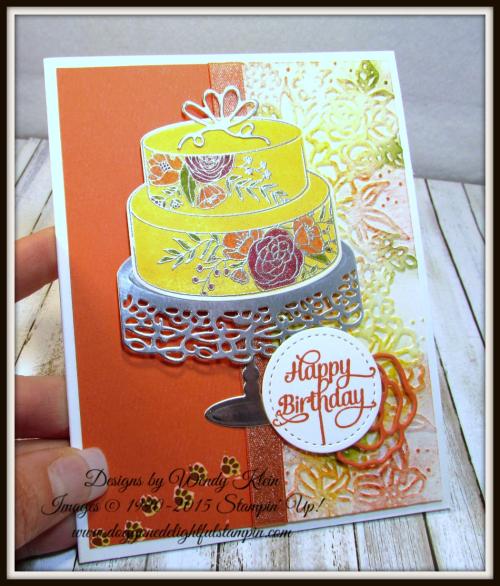 Cake Soiree  Sweet Cake Framelits  Stitched Shapes Framelits  Petal Pair TIEF  Shimmer Ribbon - 3
