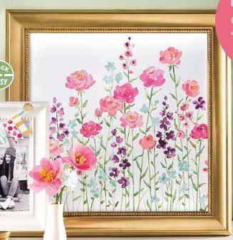 Painted Blooms Sample