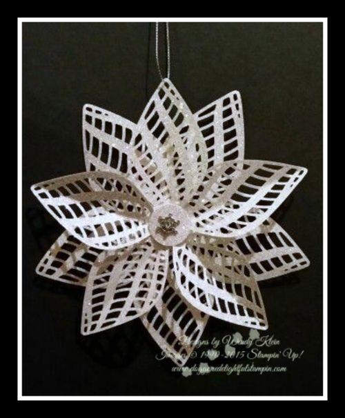 Dazzling Details Delicate Ornament (1)