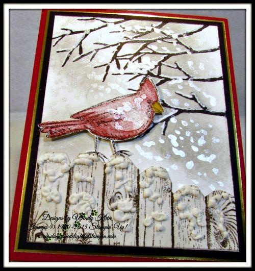 Snow Cardinal (2)
