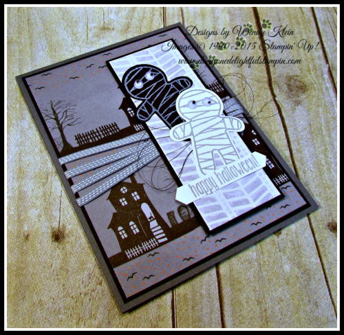 Halloween Night SDSP, Cookie Cutter Halloween, Spooky Fun, Cookie Cutter Builder Punch, Classic Label Punch, Smoky Slate 18 stitched ribbon (3)