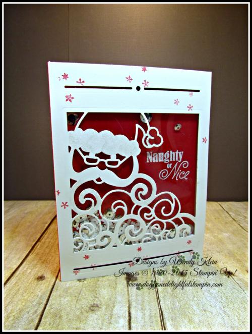 Greetings from Santa, Detailed Santa Thinlits, Wink of Stella (1)