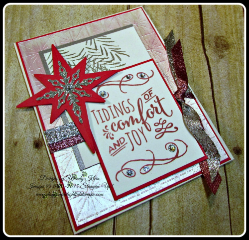 Fancy Frost SDSP, Christmas Pines, Starlight Thinlits, 38 Glitter Ribbon (4)